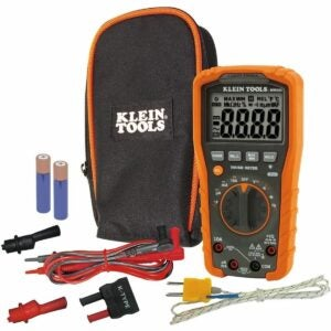 最佳Hvac万用表选项:Klein Tools MM600 Hvac万用表