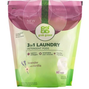 Best Laundry Pods Options: Grab Green Natural 3 in 1 Laundry Detergent Pods