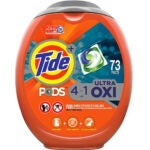 Best Laundry Pods Options: Tide Pods Ultra Oxi Liquid Laundry Detergent Pacs