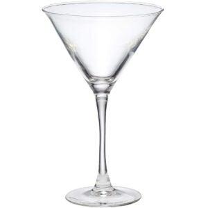 Best Martini Glass Options: Amazon Basics Chelsea Martini Glass Set