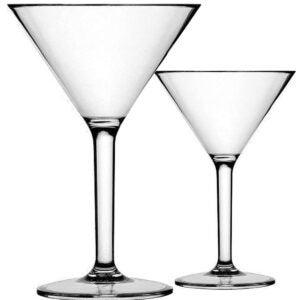 Best Martini Glass Options: K BASIX Unbreakable Martini Glasses