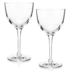 Best Martini Glass Options: The Original Nick & Nora Crystal Martini Glasses