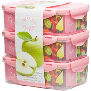 Best Meal Prep Containers Options: By Caleb Company Pink Bento Boxes For Kids Lunches