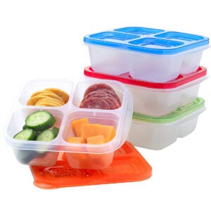 Best Meal Prep Containers Options: EasyLunchboxes - Bento Snack Boxes
