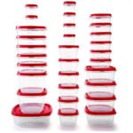 Best Meal Prep Containers Options: Rubbermaid Easy Find Vented Lids Food Storage Containers