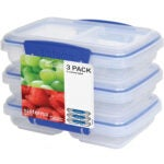 Best Meal Prep Containers Options: Sistema Klip It Multi-Use Food Storage Container Set