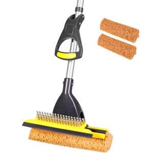 乙烯基地板的最佳拖把选项:yocada海绵拖把