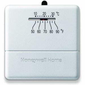 The Best Non Programmable Thermostat Option: Honeywell Home CT30A1005 Standard Manual Thermostat