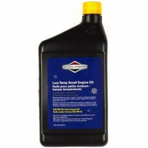 The Best Oil For Snowblower Option: Briggs & Stratton SAE 5W-30 Snow Thrower Oil