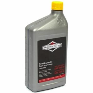 The Best Oil For Snowblower Option: Briggs & Stratton Synthetic Small Engine Motor Oil