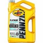 The Best Oil For Snowblower Option: Pennzoil Platinum Full Synthetic 5W-30 Motor Oil