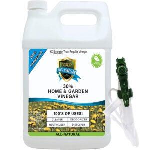 Best Organic Weed Killer Options: 30% Vinegar Pure Natural