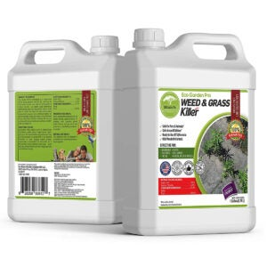 Best Organic Weed Killer Options: ECO Garden PRO - Organic Vinegar Weed Killer