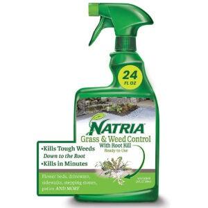 最佳有机杂草杀手选择:Natria 100532521草和杂草控制