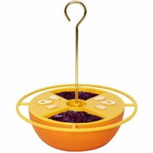 最好的羊毛喂食器选项:Heath Outdoor Products Citrus Buffet Oriole进料器