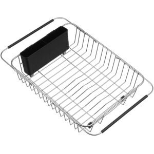 Best Over The Sink Dish Rack Options: SANNO Expandable Dish Drying Rack Over The Sink Dish Rack