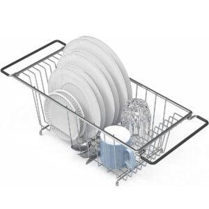 最好的水槽架选择:简单的家居用品在水槽柜台
