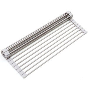 Best Over The Sink Dish Rack Options: Surpahs Over The Sink Multipurpose Roll-Up