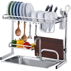 Best Over The Sink Dish Rack Options: istBoom Over The Sink Dish Drying Rack