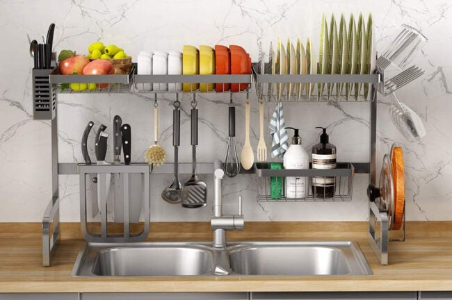 Best Over The Sink Dish Rack Options