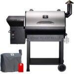 Best Pellet Smoker Options:Z GRILLS ZPG-7002E 2020 Upgrade Wood Pellet Grill