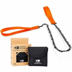 """The Best Pocket Chainsaw Option: Nordic Pocket Saw Survival Chainsaw - 25.6"""""""