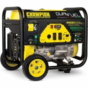 The Best Propane Generator Option: Champion Power Equipment 6900/5500-Watt Generator