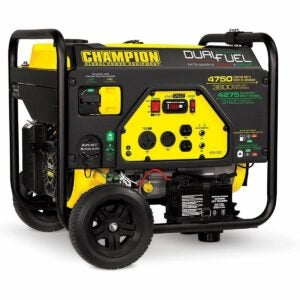 The Best Propane Generator Option: Champion Power Equipment 76533 4750/3800-Watt