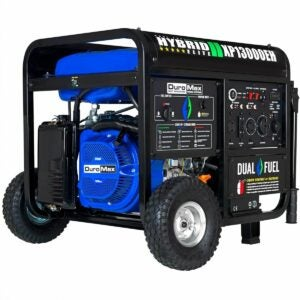 The Best Propane Generator Option: DuroMax XP13000EH Dual Fuel Portable Generator