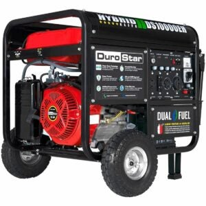 The Best Propane Generator Option: Durostar DS10000EH Dual Fuel Portable Generator