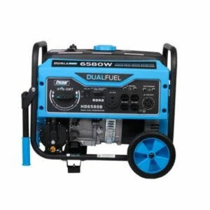 The Best Propane Generator Option: Pulsar 6,580/5,500-Watt Dual Fuel Generator