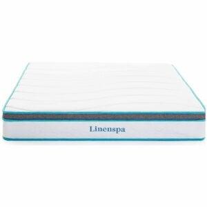 The Best Rv Mattress Option: Linenspa 8 Inch Memory Foam and Innerspring Hybrid