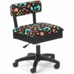 The Best Sewing Chair Option: Arrow Adjustable Height Hydraulic Sewing and Craft