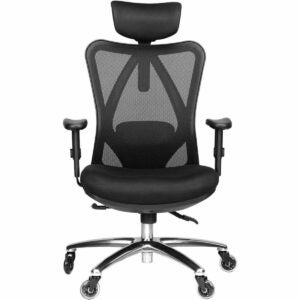 The Best Sewing Chair Option: Duramont Ergonomic Adjustable Office Chair