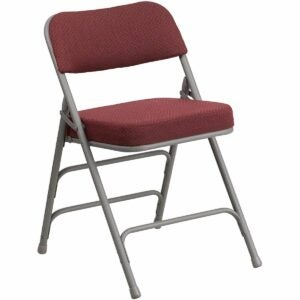 The Best Sewing Chair Option: Flash Furniture HERCULES Series Metal Folding Chair