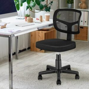 The Best Sewing Chair Option: MOLENTS Armless Office Chair