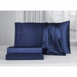 The Best Silk Sheets Option: Lanest Housing Silk Satin Sheets Bed Set