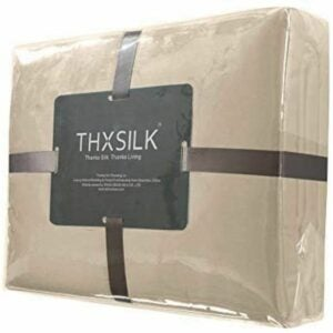 The Best Silk Sheets Option: THXSILK 19 Momme Silk Bed Sheets