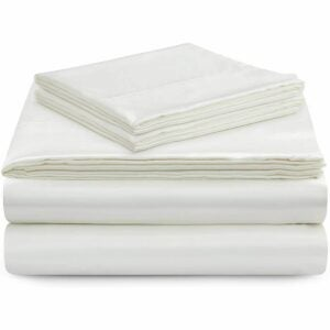 The Best Silk Sheets Option: Vonty Satin Silky Soft Sheet Set