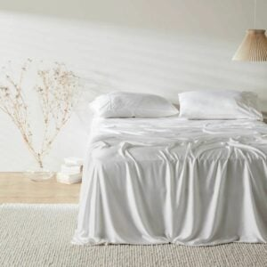 The Best Silk Sheets Option: ettitude Signature CleanBamboo Sateen Sheet Set