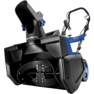 The Best Single Stage Snow Blower Option: Snow Joe SJ625E Electric Single Stage Snow Thrower