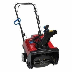 The Best Single Stage Snow Blower Option: Toro Power Clear 18 in. Single-Stage Gas Snow Blower