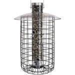 Best Squirrel Proof Bird Feeder Options: Droll Yankees Domed Cage Sunflower Seed Bird Feeder