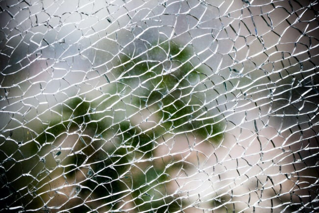 shattered thermal window