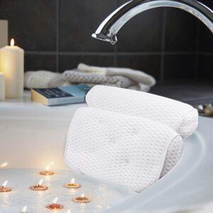 The Best Bath Pillow Option: AmazeFan Bath Pillow, with 4D Air Mesh Technology