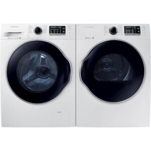 The Best Compact Washer And Dryer Option: Samsung High Efficiency Front Load Washer and Dryer