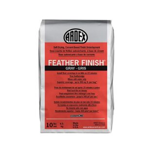 The Best Concrete Resurfacer Option: Ardex Feather Finish Grey Self-Drying Cement