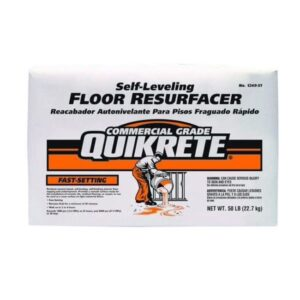 The Best Concrete Resurfacer Option: Quikrete Fast-Setting Self-Leveling Floor Resurfacer