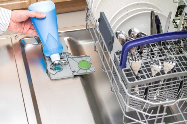 最好的洗碗机冲洗援助