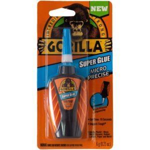 The Best Glue For Leather Option: Gorilla Micro Precise Super Glue